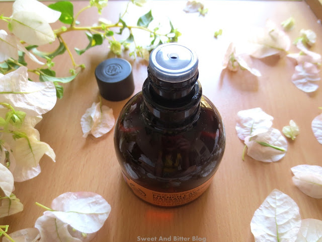 The Body Shop Spa of the World French Lavender Massage Oil