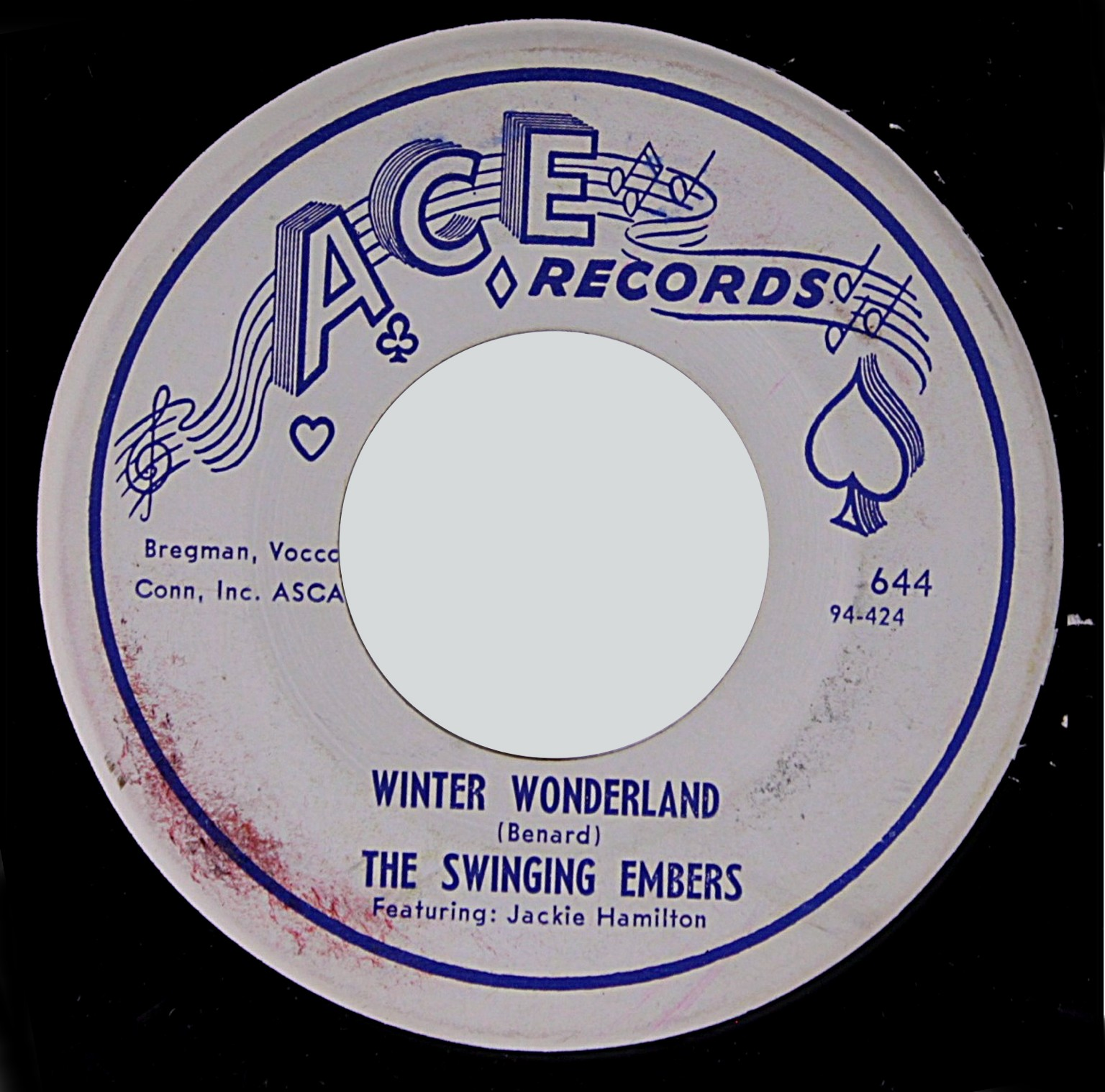 WHITE DOO-WOP COLLECTOR: THE SWINGING EMBERS (Ace Records
