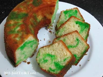 Resep Bolu Minyak (Oil Pound Cake) JTT