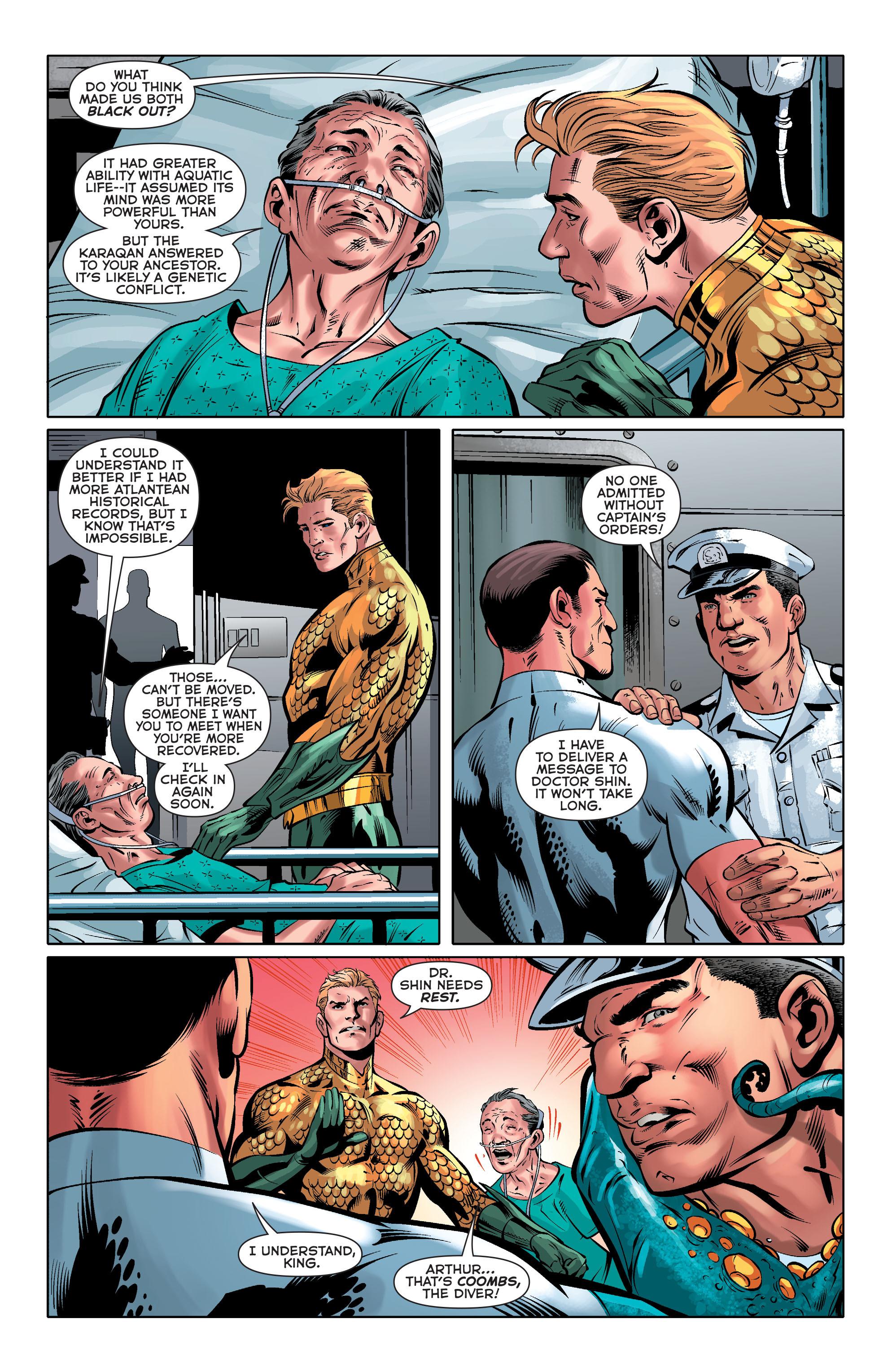 Read online Aquaman (2011) comic -  Issue #33 - 20