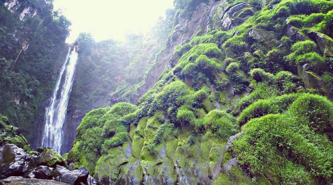 Air Terjun Bissappu tinggi dan cocok sebagai daerah tempat wisata bantaeng