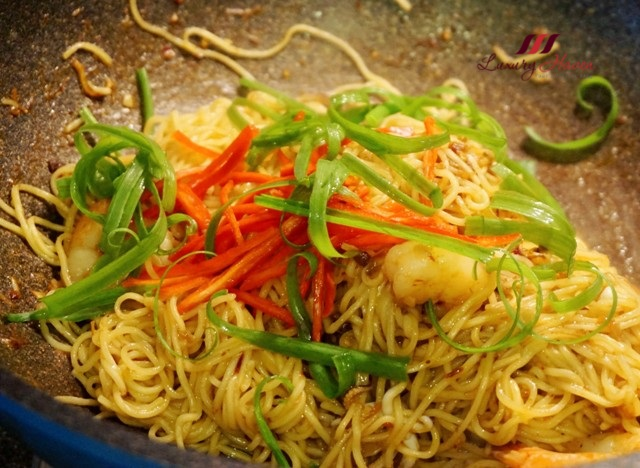 how to cook springy noodles