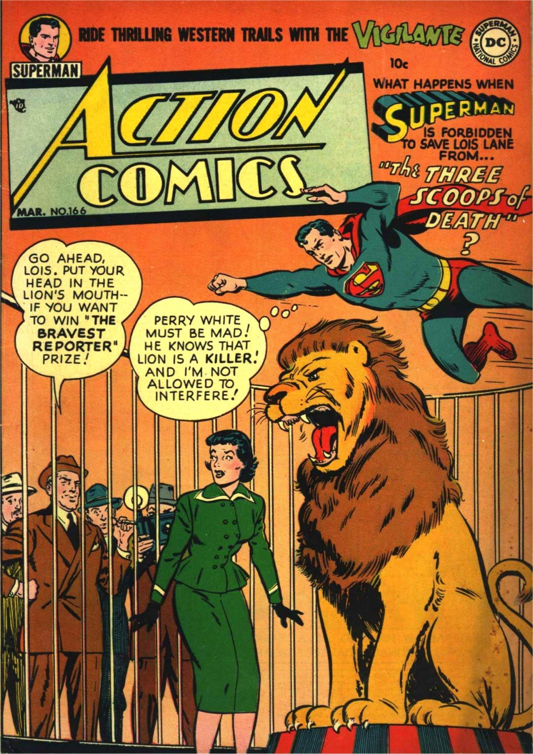 Read online Action Comics (1938) comic -  Issue #166 - 1