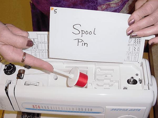 Spool Pin sewing machine