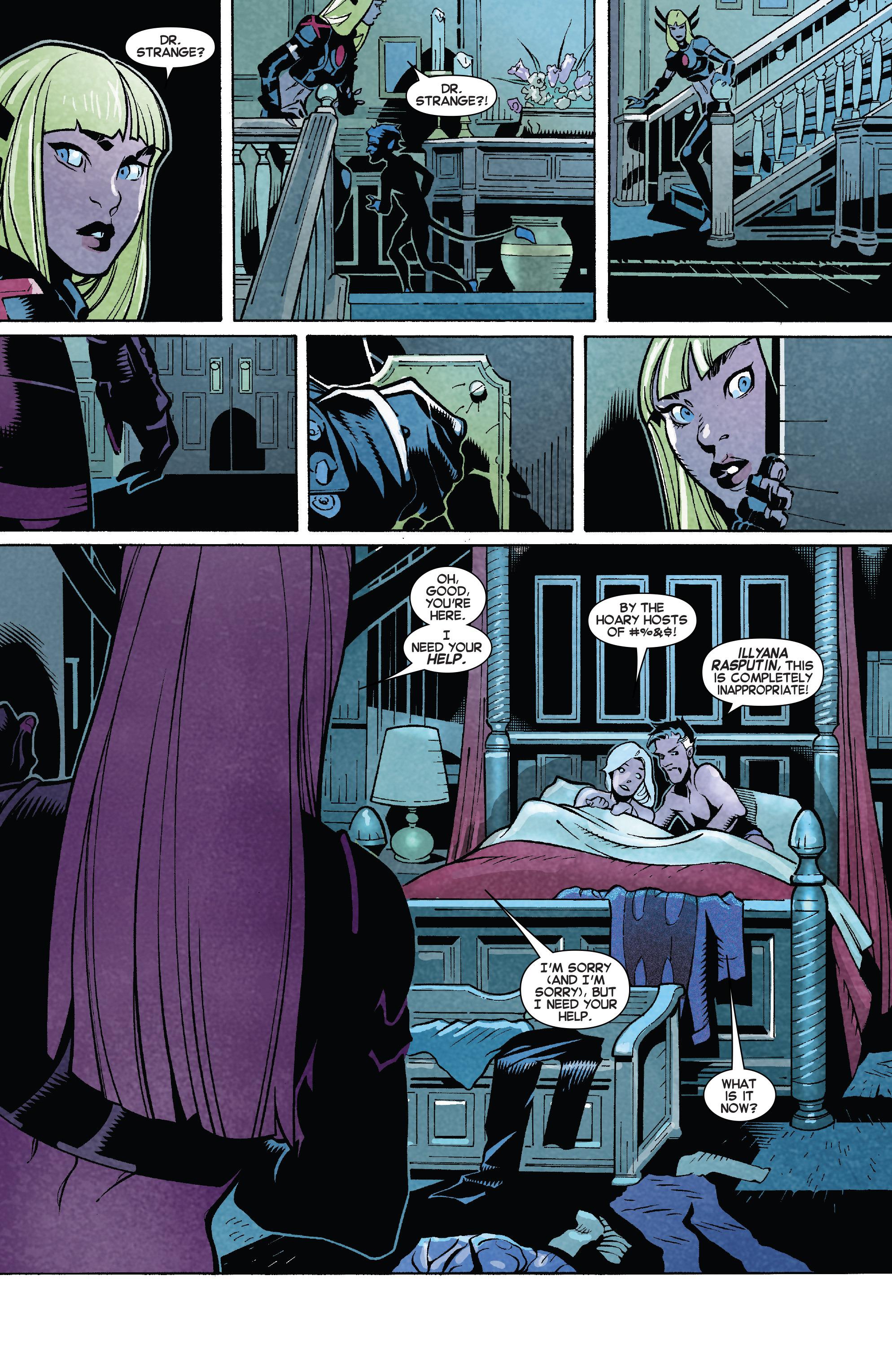 Read online Uncanny X-Men (2013) comic -  Issue # _TPB 5 - The Omega Mutant - 59