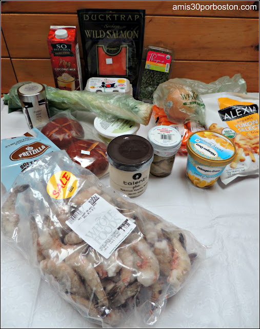 Mi Cena de Thanksgiving: Compras