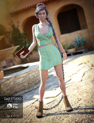 Trendy Fun Outfit for Genesis 3 Female(s)