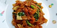 Kuey Teow Goreng Dengan Udang Dan Ayam