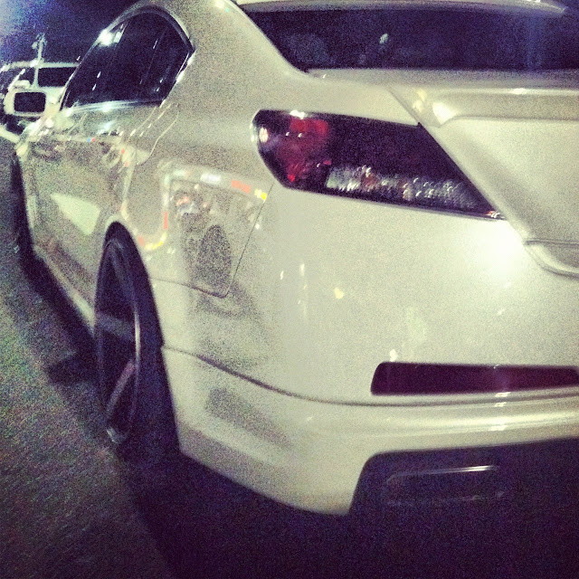 Applebee's Car Meet: Acura TL On Vossen Wheels