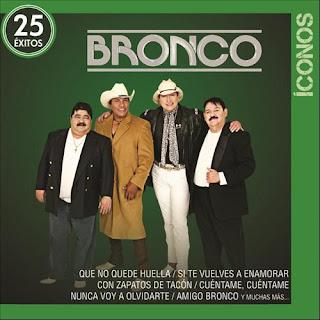Bronco Iconos 25 Éxitos portada
