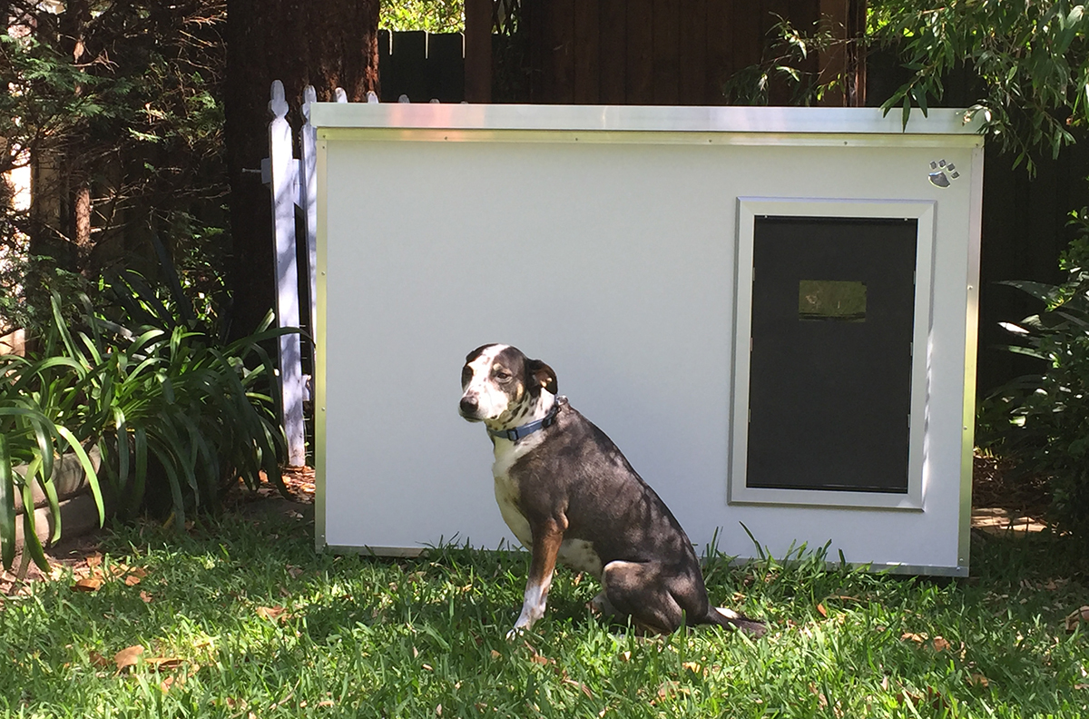 Kumfi kennels insulated dog kennels australian dog lover for What is dog boarding