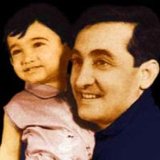 Aamir khan with his father