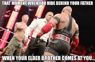 That Moment When You Hide Behind