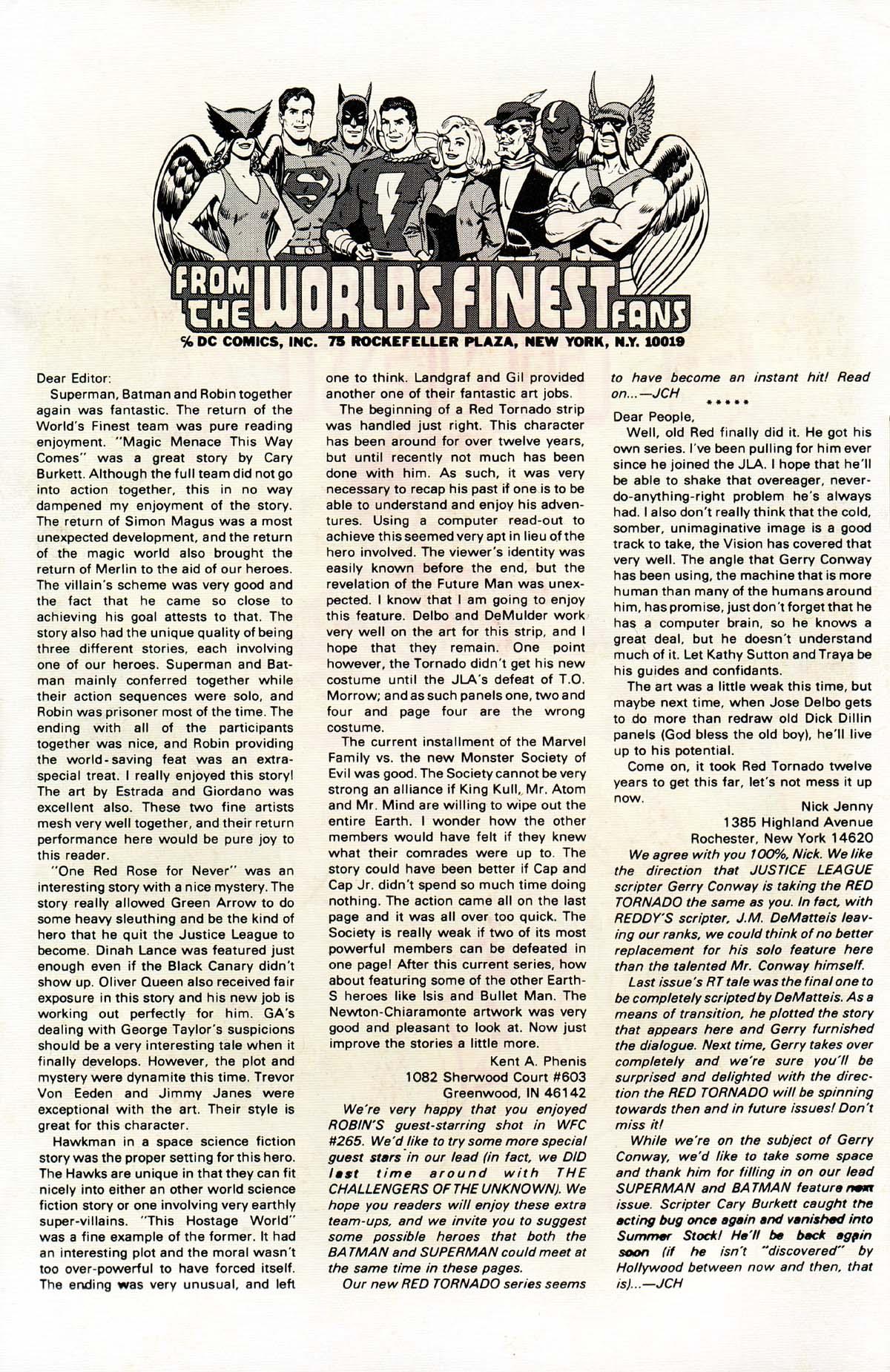 Read online World's Finest Comics comic -  Issue #268 - 2