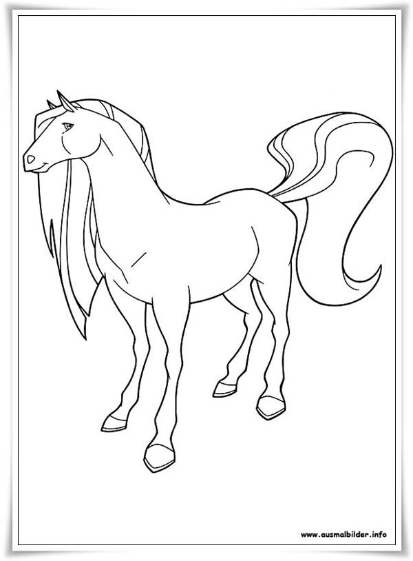ausmalbilder zum ausdrucken ausmalbilder horseland kostenlos
