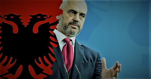 Σημαιοφόρος της «Μεγάλης Αλβανίας» ο Ράμα
