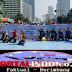 Antusias Pengunjung CFD Jakarta Dukung Gerakan Jangan Takut Memilih Dan Aksi Tolak Golput Lawan Hoak