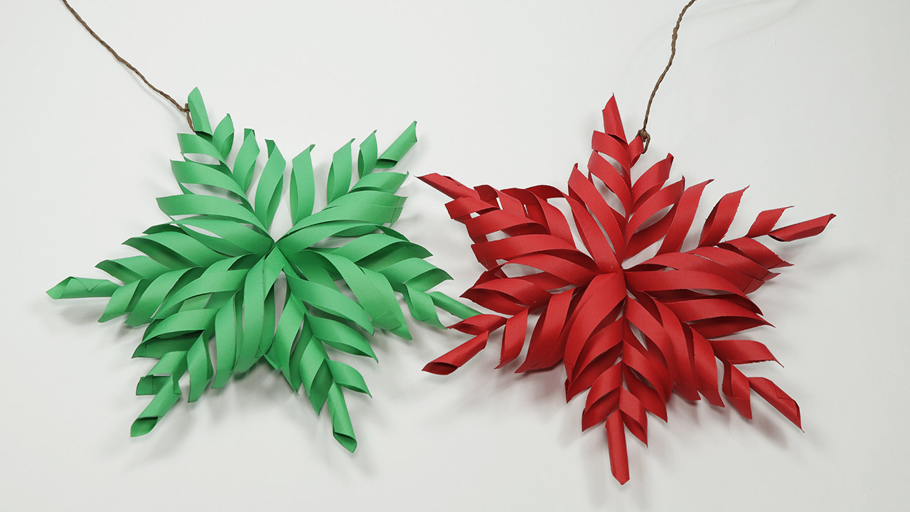 Instructions how to make paper snowflake. Tutorial Christmas ... | 720x1280
