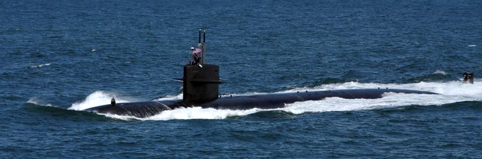 Vessel of Interest | наблюдаемое судно: Tracking US Navy nuclear