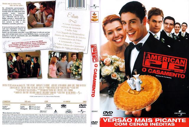 Capa DVD American Pie O Casamento