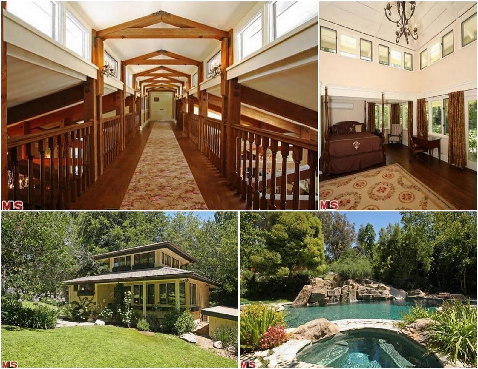 Celebrity Real Estate Former Lisa Marie Presley Estate In Hidden Hills Flipped At 22 Million