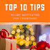 Top 10 Tips to Get Motivated for Christmas