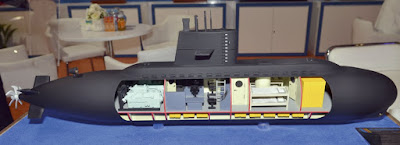 Thruster kapal selam mini