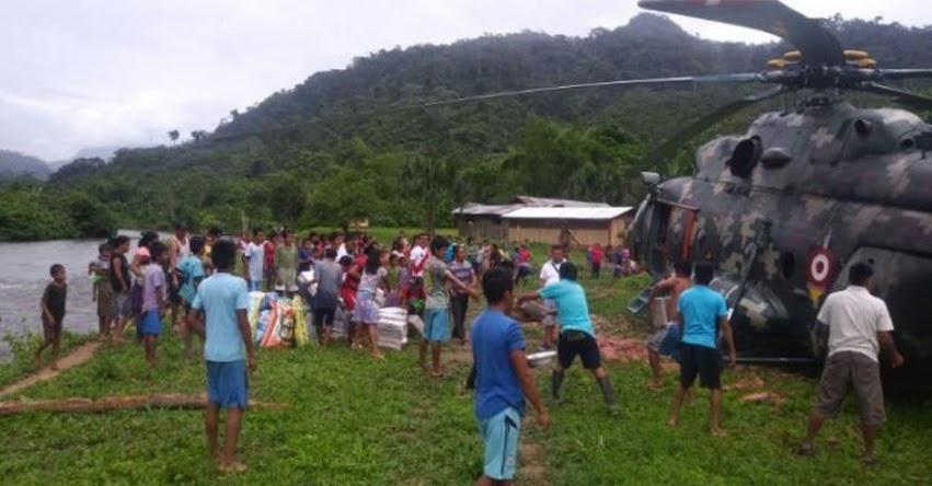 Fuerzas Armadas distribuyeron material educativo a más de 400 colegios de 4 regiones
