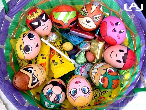 Easter egg cute decoration for kids