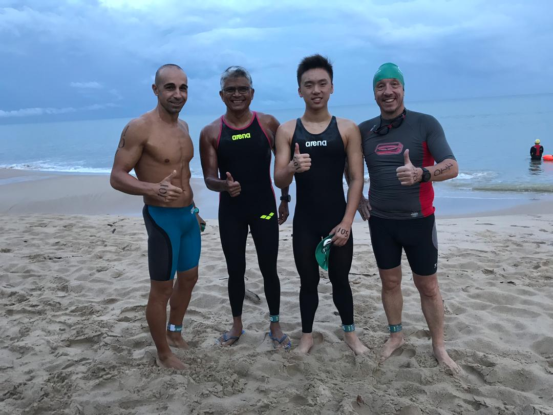 First Brunei Marathon Swim