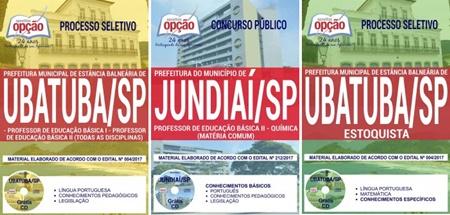 Apostila Concurso Prefeitura de Ubatuba 2017