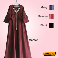 jual Gamis panjang melly dress
