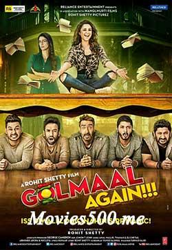 Golmaal Again 2017 Hindi Full Movie DVDRip 720p at movies500.me