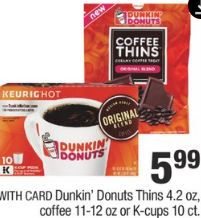 Dunkin' Donuts Thins
