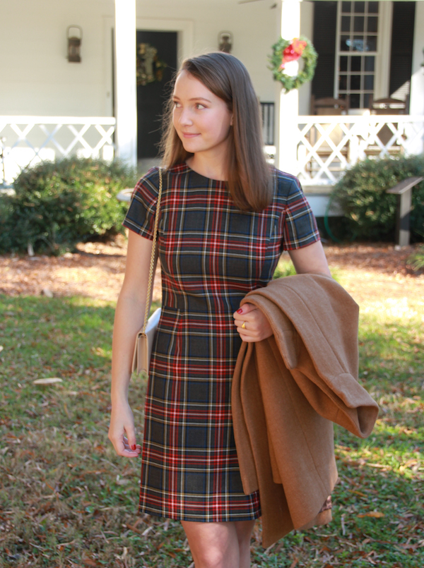 6dcabbd370f2 Gimme Glamour: Classic Plaid Brooks Brothers Dress