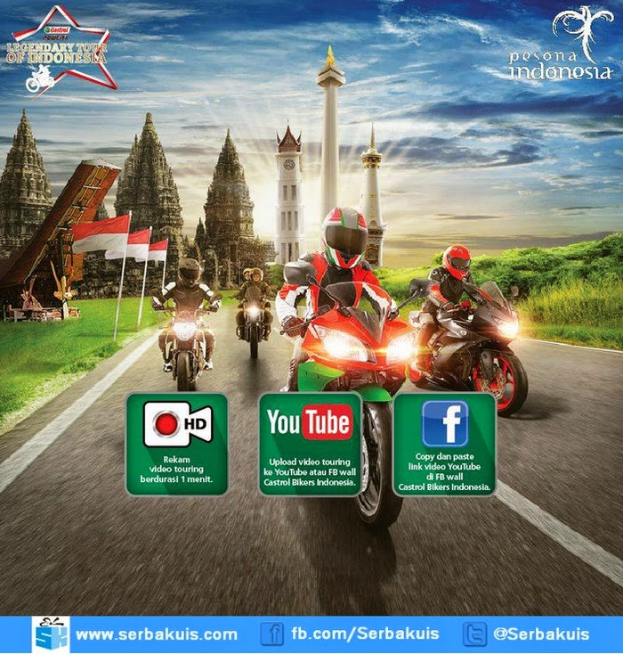 Kontes Video Castrol Power1 Legendary Tour of Indonesia