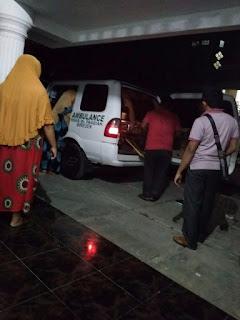 Dokter Memper Bolehkan Pulang M. Ali setelah menjalani pengobatan sejak Juli 2018