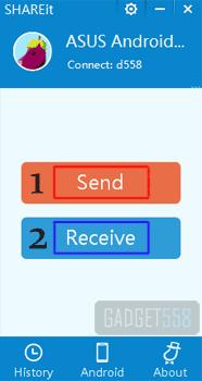 Mengirim file melalui wifi