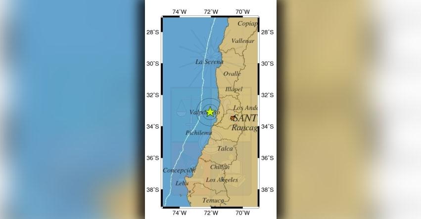 TEMBLOR EN CHILE de 4.4 Grados (Hoy Jueves 27 Abril 2017) Sismo Terremoto EPICENTRO - Santiago - Valparaíso - ONEMI - www.onemi.cl