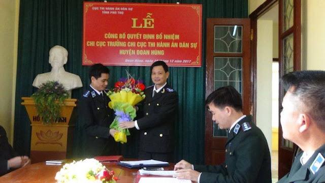 Khởi tố 2 Chi cục trưởng thi hành án tại Phú Thọ tham nhũng