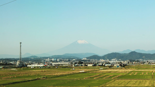 Fuji depuis le Shinkansen