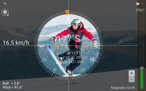 تحميل تطبيق البوصلة smart compass pro apk النسخة المدفوعة مجانا