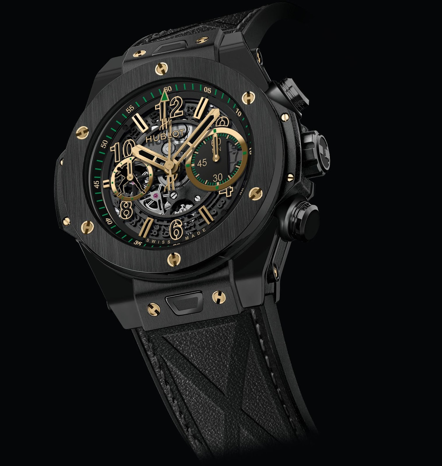 Hublot Uhr Neue Uhr : Hublot Big Bang Unico Usain Bolt 2016 Edition