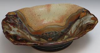 stoneware bowl nc pottery