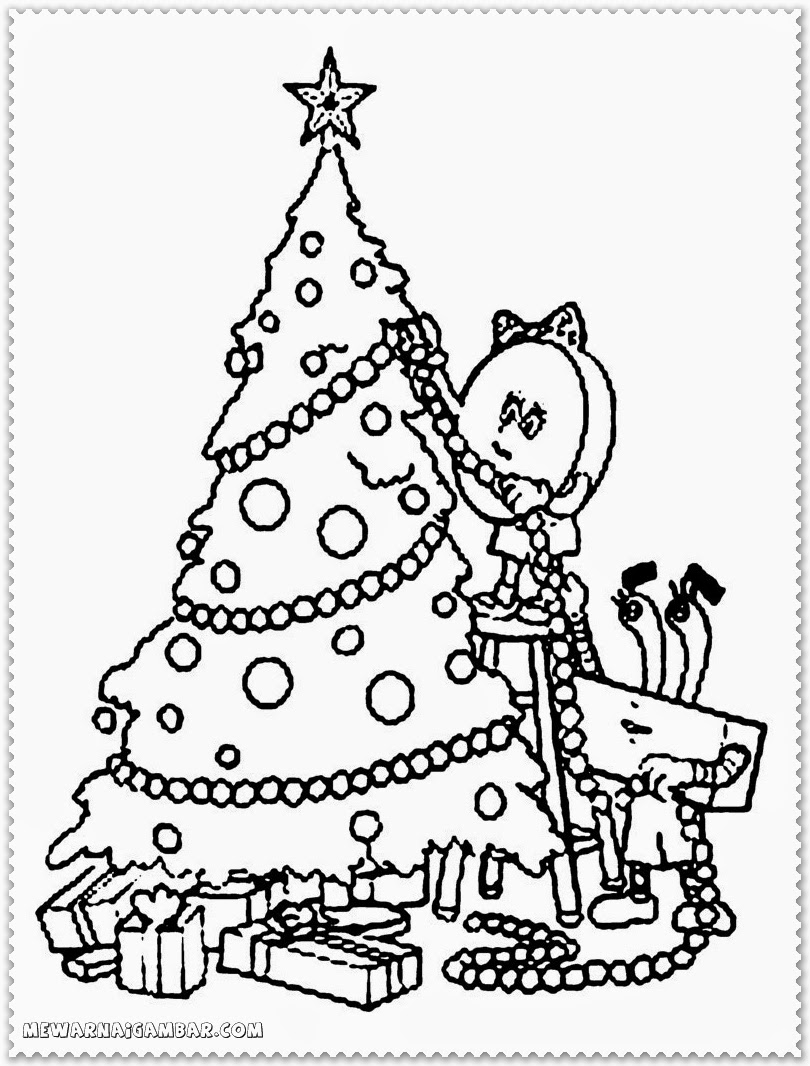 Christmas coloring pages ornaments
