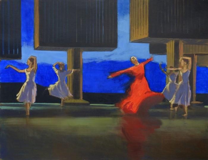 Французский художник. Olivier Desvaux