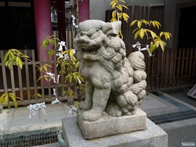 神津神社十三戎神社狛犬
