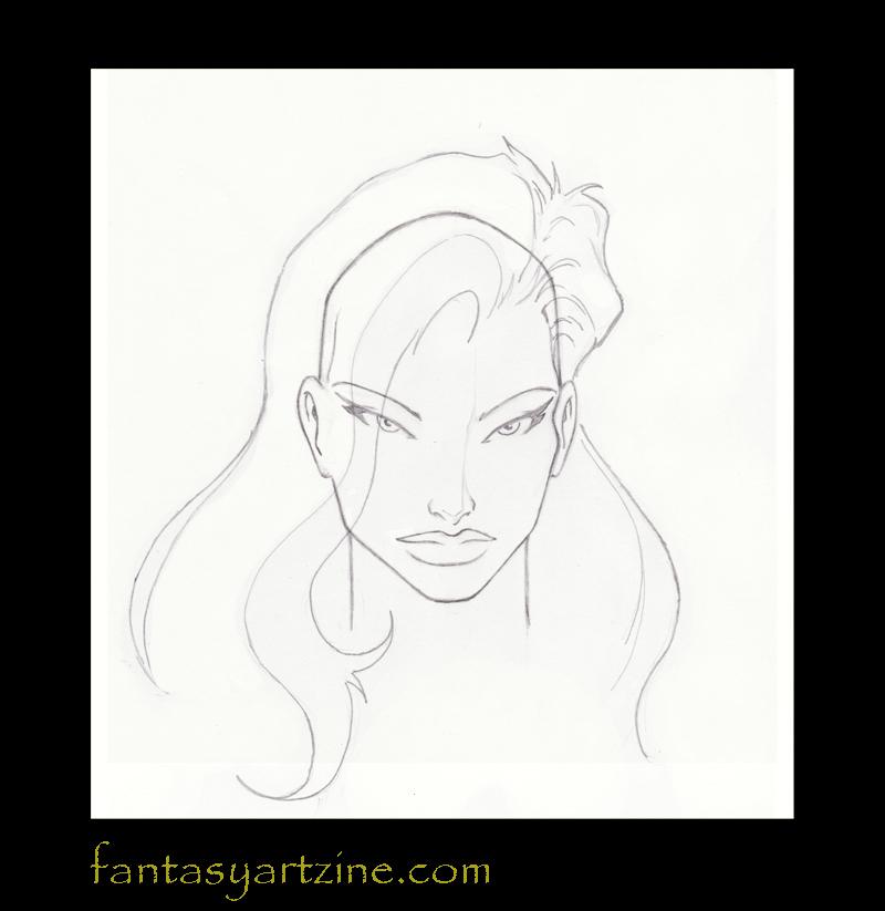 Come disegnare: Imparare a disegnare i capelli lunghi di ...