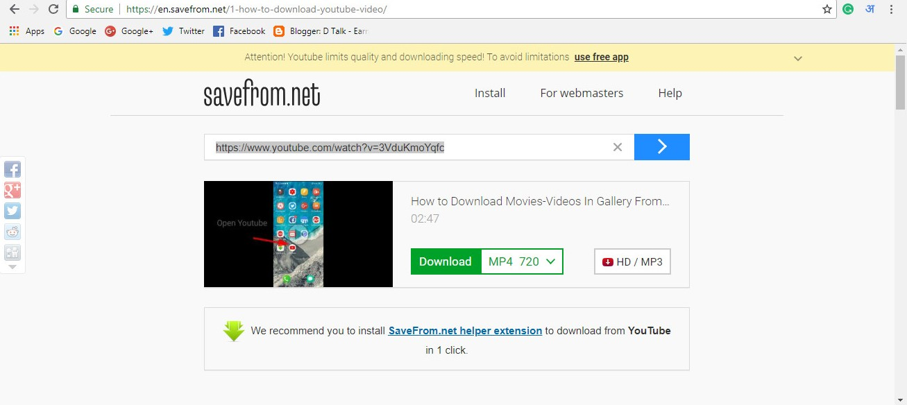 save from net youtube to gallery