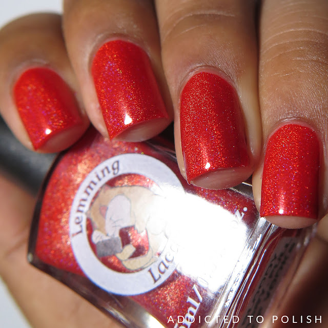 Lemming Lacquer Bloody Mary, Full of Vodka